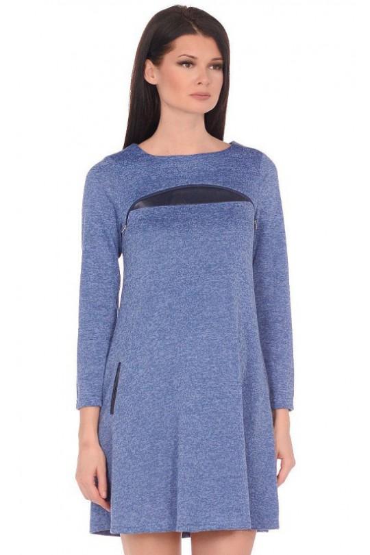 Платье для  беременных и для кормящих мам  к-2434