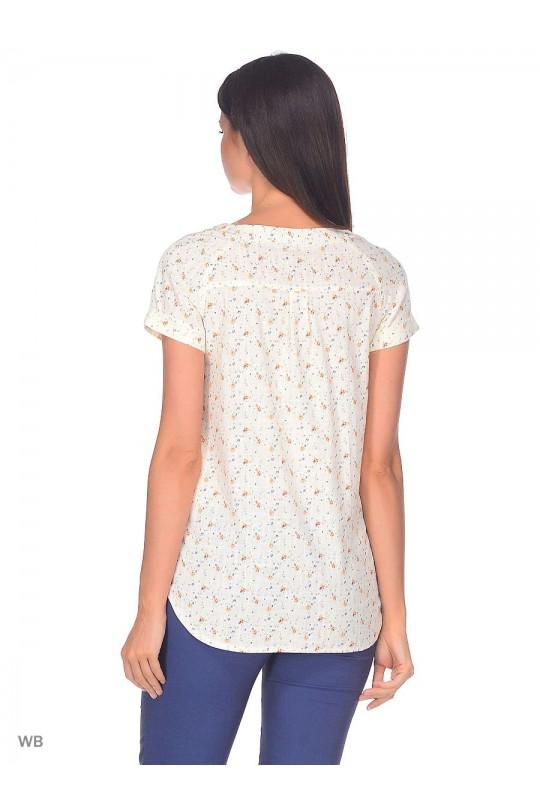 Блуза с коротким рукавом м4543 9 месяцев 9 дней