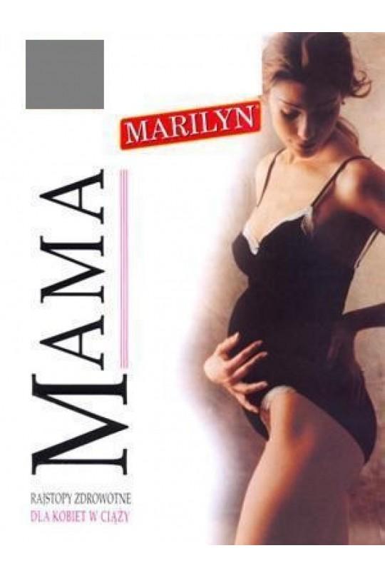 Marilyn Mama 60, колготки для беременных серые