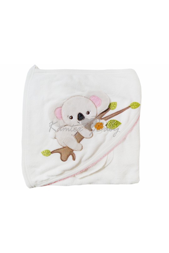 """полотенце махровое с уголком """"Коала"""""""